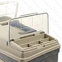 """Багатофункціональний органайзер пластиковий для метизів, 17"""", 435x235x300 мм INTERTOOL BX-4017, фото 2"""
