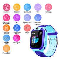 Smart часы детские с GPS TD07S + камера
