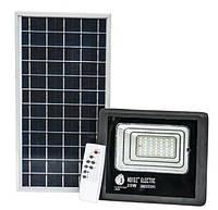 LED светильник 25Вт с солнечной панелью 12Вт, аккумулятор 5500мAч, пульт ДУ, фото 1