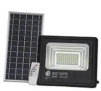 LED светильник 60Вт с солнечной панелью 20Вт, аккумулятор 11000мAч, пульт ДУ, фото 1