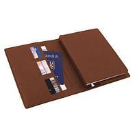 Ежедневник датированный на 2020г. в обложке коричневый О25232