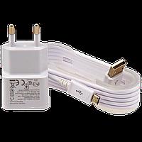 Зарядное устройство LP АС-003 USB 5V 2A + кабель USB - Micro USB (Белый) /ОЕМ ТМ Logicpower