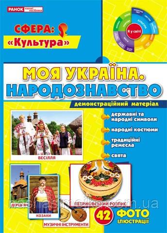 1050-1. Демонстраційний матеріал «Моя Україна. Народознавство». (НП)