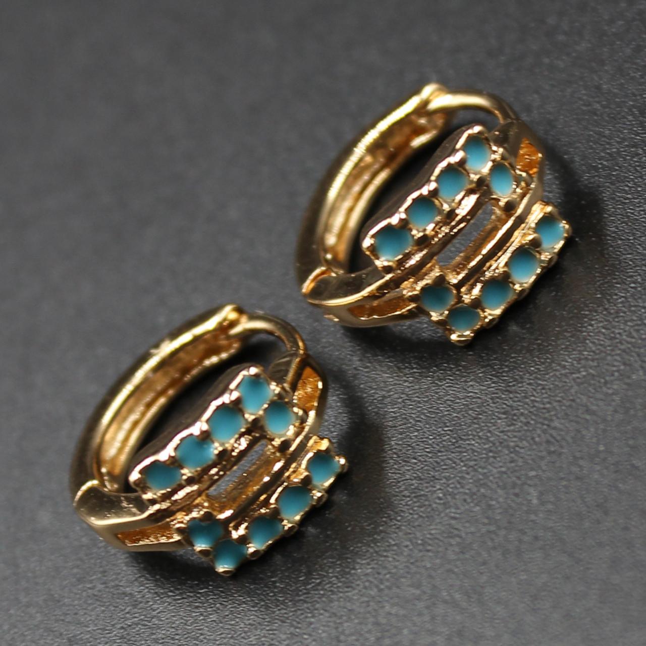 "Серьги женские ""Sandia"" Xuping Jewelry (позолота)."