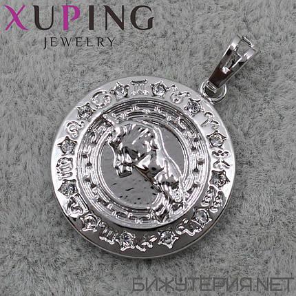 Иконка Xuping медицинское золото 22 х 20 мм, фото 2