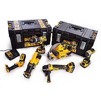 Набор из шести инструментов аккумуляторных бесщеточных DeWALT DCK623P3