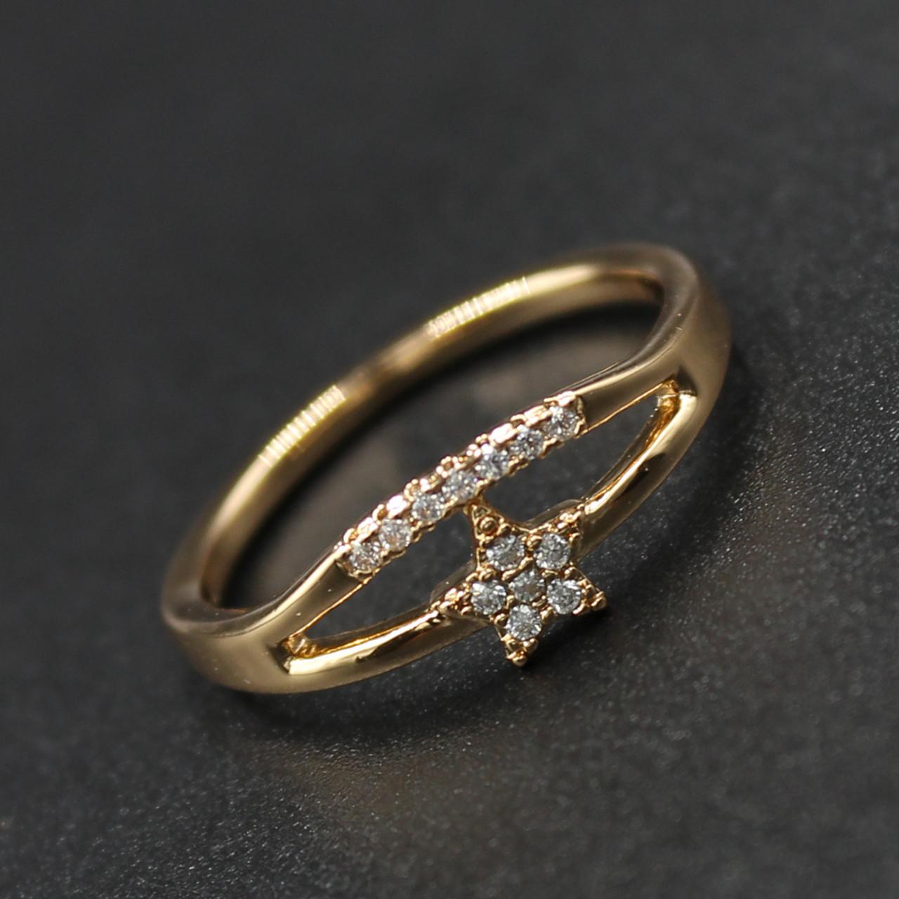 """Кольцо женское Xuping( Хьюпинг) """"Barkeria"""""""