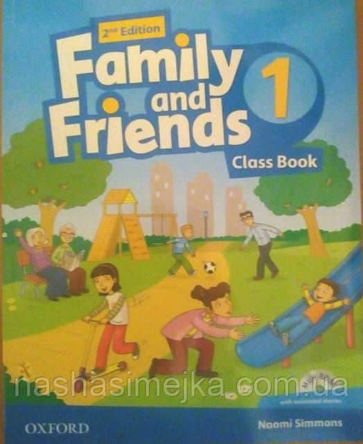 FAMILY AND FRIENDS 2ND EDITION 1: CLASS BOOK WITH MULTIROM. (Oxford)