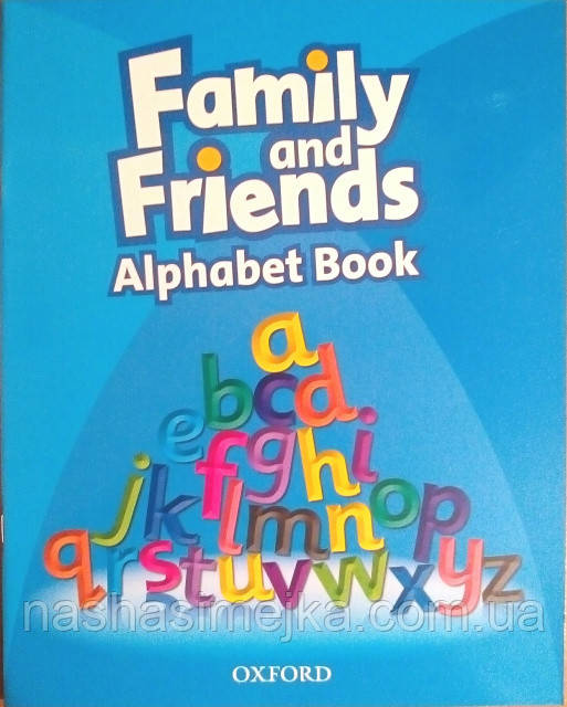 FAMILY AND FRIENDS ALPHABET BOOK. (Oxford)