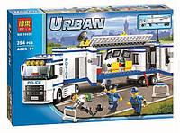 """Конструктор Bela 10420 (аналог Lego City 60044) """"Мобильный отряд полиции"""", 394 детали"""