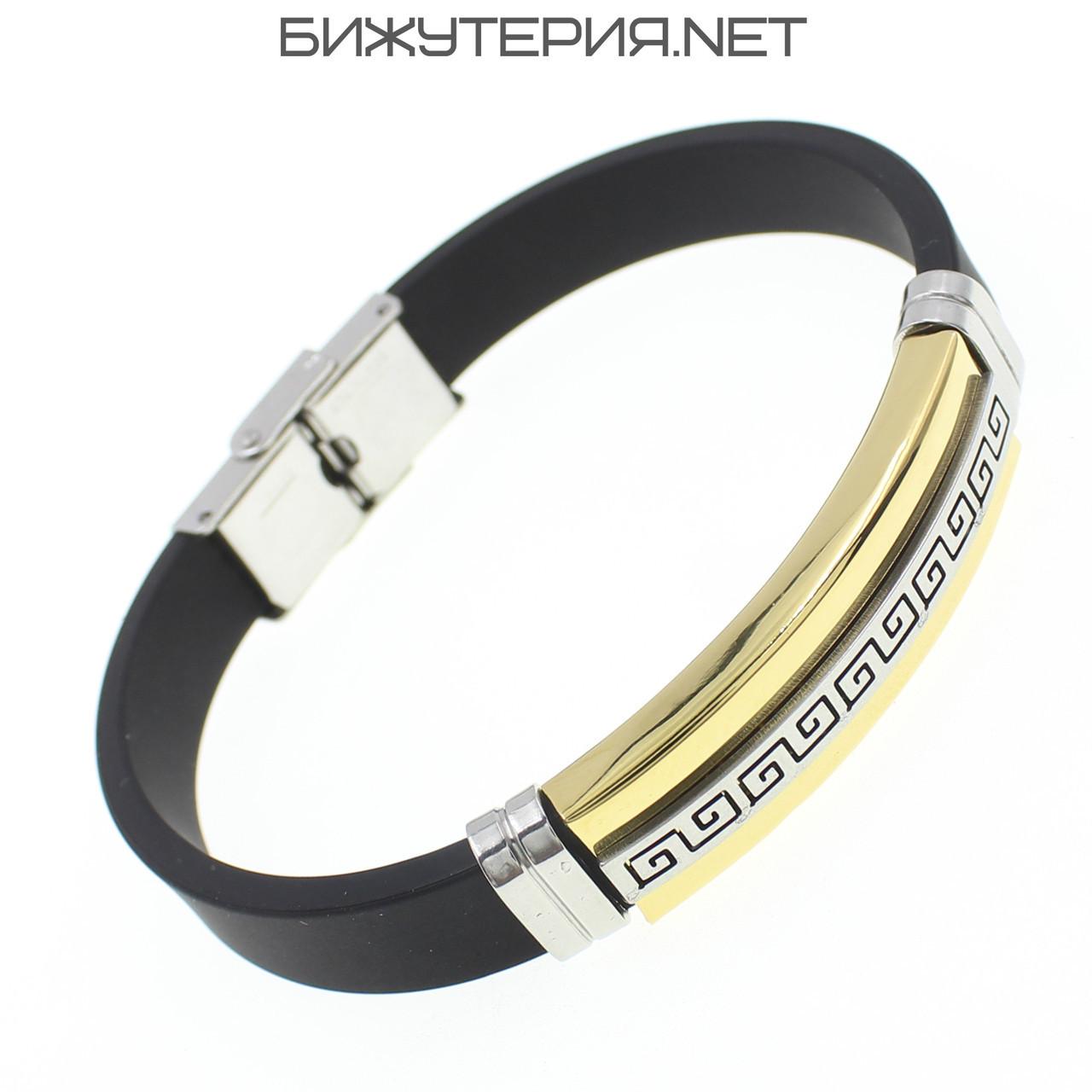 Мужской браслет Stainless Steel - 1043018308