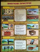 Плакат «Вибухові пристрої». (ПіП)