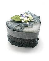 Шкатулка для бижутерии (14,5х13,5х12 см)