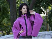 Пальто пончо женское демисезон Р131