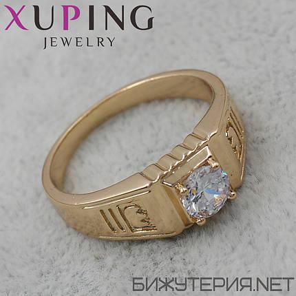 Перстень Xuping медицинское золото 18K Gold - 1025750022 21, фото 2