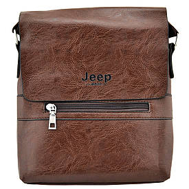 Мужская сумка Jeep 9008 Коричневая  (S01008)