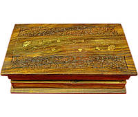 "Шкатулка розовое дерево ""Книга"" (25,5х15х6,5 см)(10"" Х 6"")"