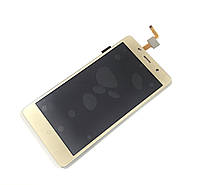 Дисплей Bravis A504 Trace / X500 Trance Pro / Leagoo M5 / Assistant AS-5433 complete Gold