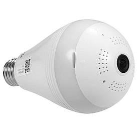 Панорамная WiFi Камера видеонаблюдения в виде лампочки A9  (S01156)