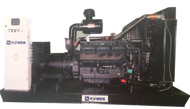 Трехфазный дизельный генератор KJ Power KJS200 (160 кВт)