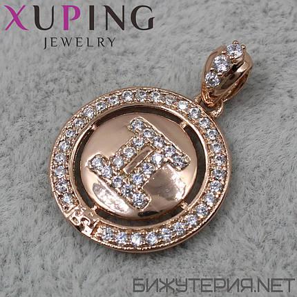Знак Зодиака Близнецы Xuping медицинское золото 18K Gold - 1021993557, фото 2
