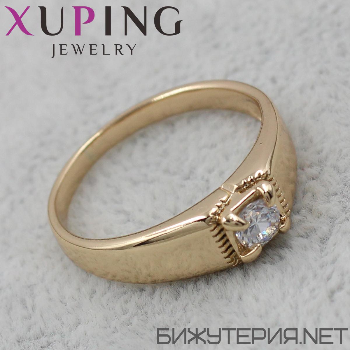 Кольцо Xuping медицинское золото 18K Gold - 1027634335 19