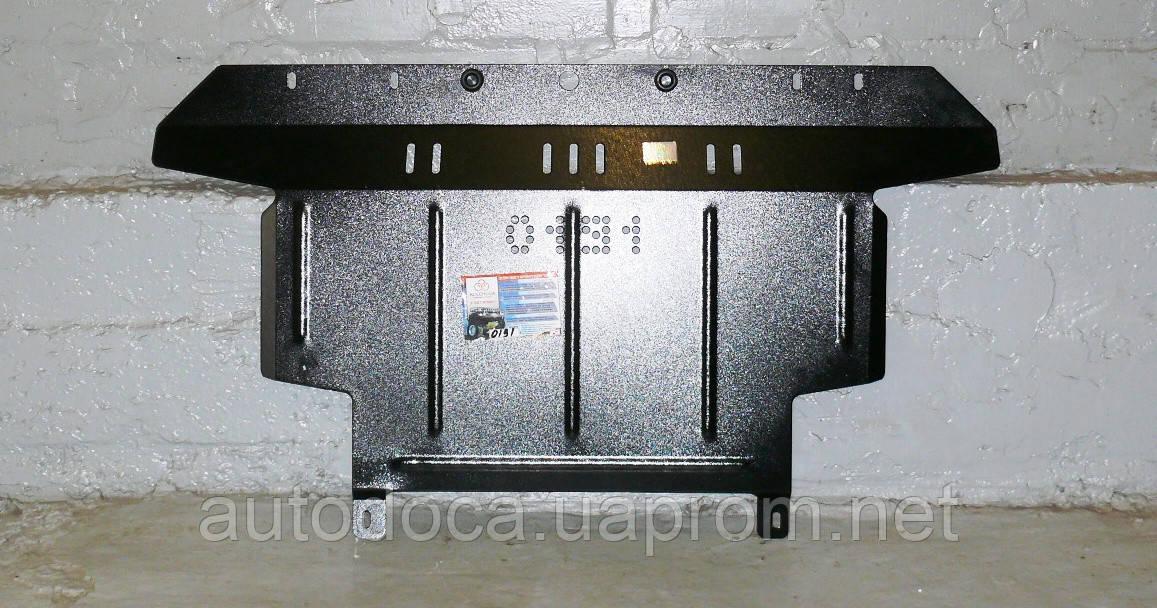 Защита картера двигателя и кпп Fiat Linea  2007-