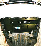 Защита картера двигателя и кпп Fiat Linea  2007-, фото 3