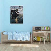 "Постер ""Кинг-Конг (2005)"". King Kong. Размер 60x40см (A2). Глянцевая бумага, фото 3"