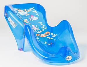 Горка для купания Tega Aqua AQ-003 нескользящая 115 blue
