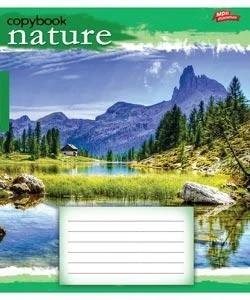 Тетрадь 18 листов, линия, Пейзаж