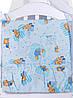 Детская постель Qvatro Gold RG-08 рисунок  голубая (мишки), фото 4