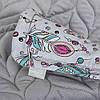 Комплект в кроватку Ceba Baby Плед (75x100) + подушка (30x45)  plumas, фото 2