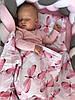 Комплект в кроватку Ceba Baby Плед (75x100) + подушка (30x45)  стрекозки, фото 3