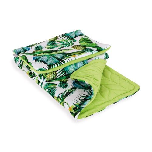 Комплект в кроватку Ceba Baby Плед (75x100) + подушка (30x45)  ананасы