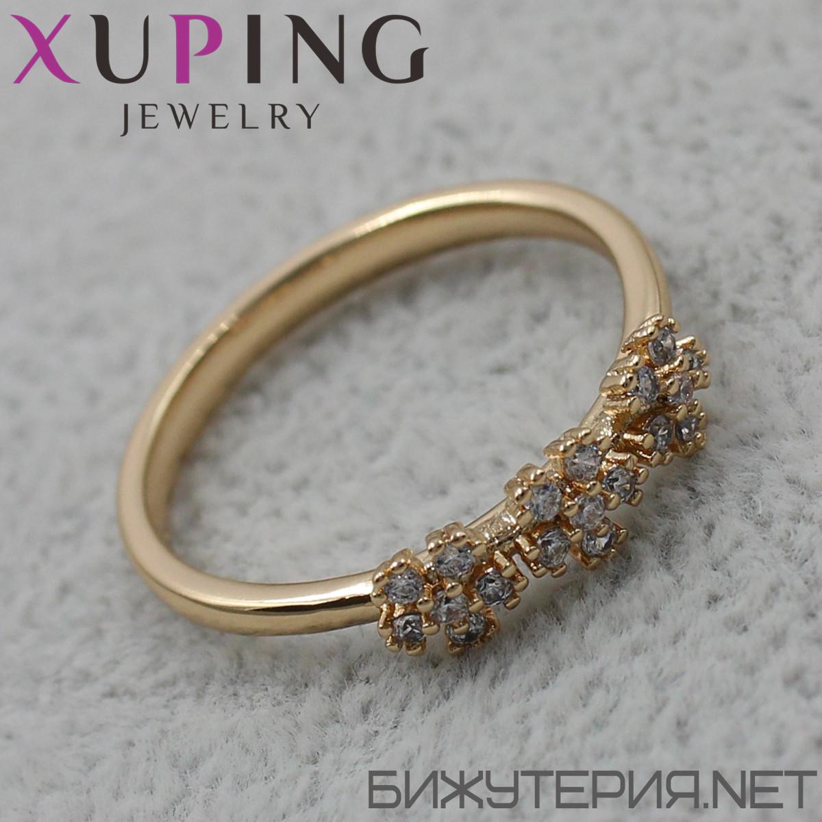 Кольцо Xuping медицинское золото 18K Gold - 1027640537 17