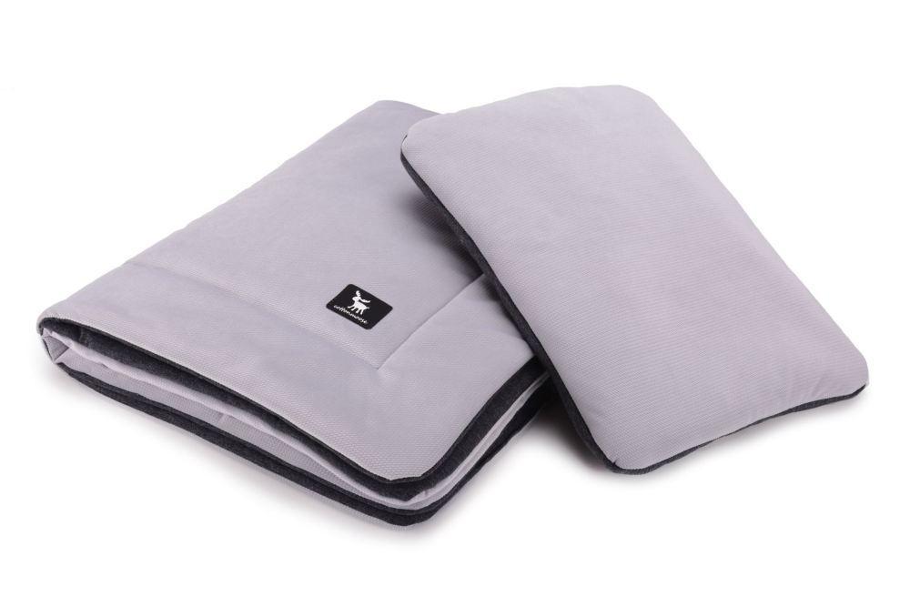 Плед с подушкой Cottonmoose Cotton Velvet 408/117/115