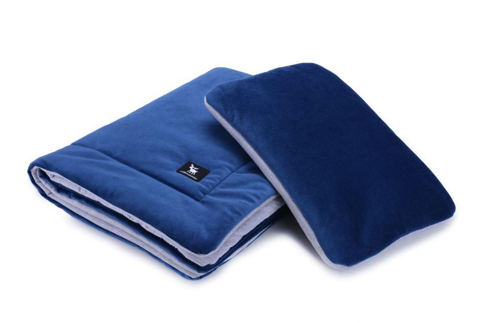 Плед с подушкой Cottonmoose Cotton Velvet 408 /145/49
