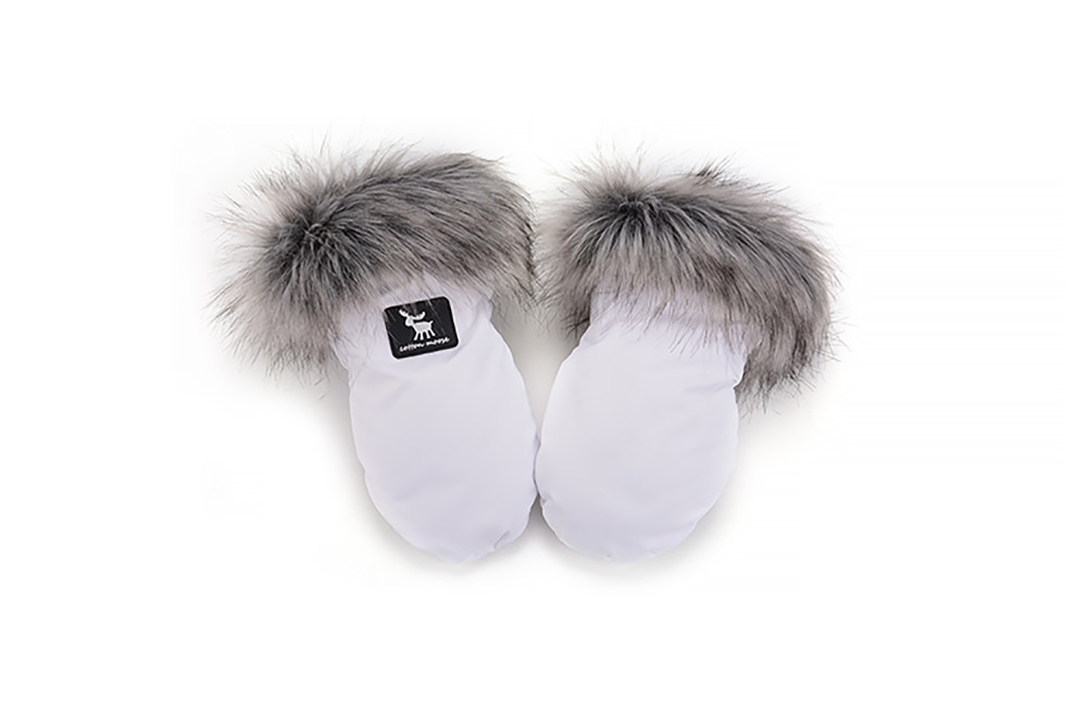 Рукавицы Cottonmoose Handmuff white