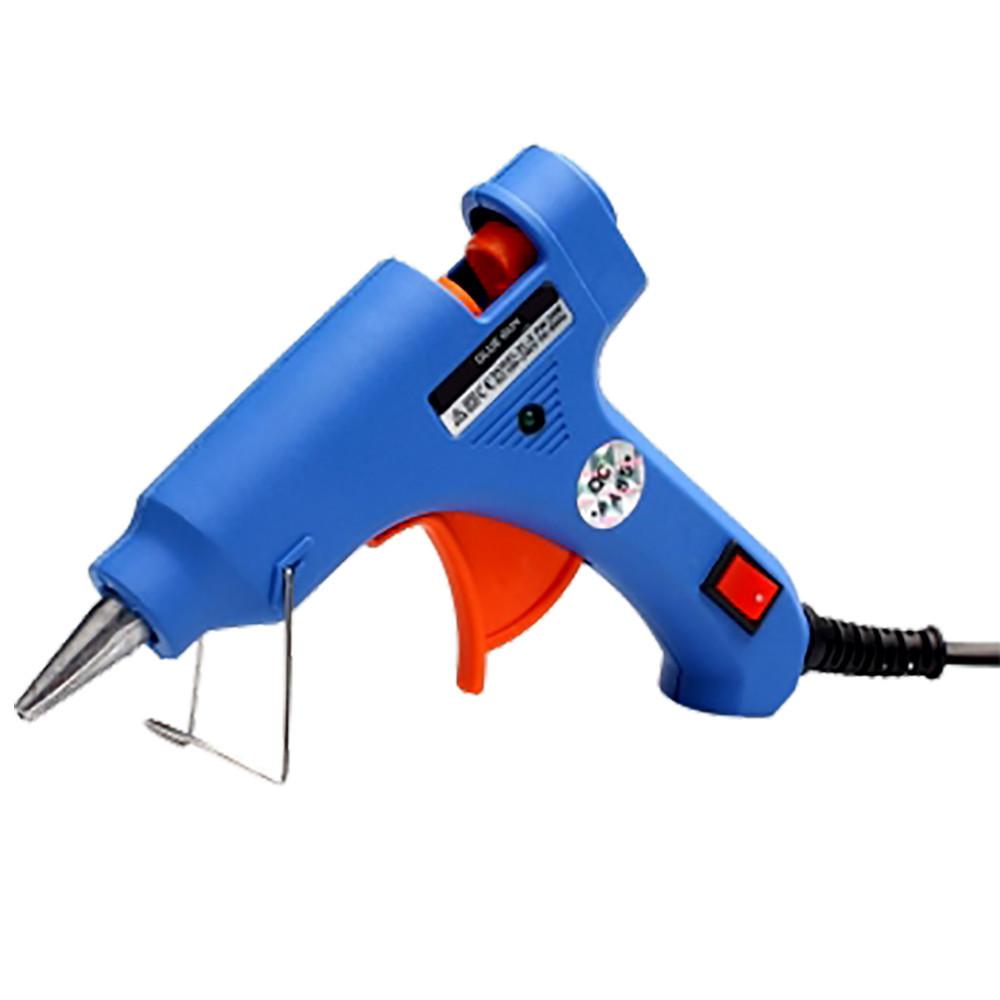 Клеевой пистолет с выключателем Hot Melt GLUE Gun  20 W для стержня 7-8 мм  (S01723)