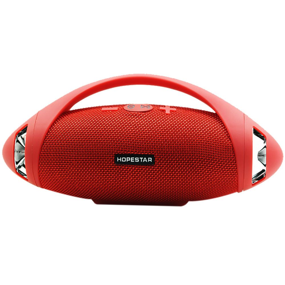 Портативная Bluetooth колонка HOPESTAR H37 Красная  (S01744)