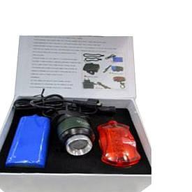 Фонарик для велосипеда аккумуляторный BL-B06B mini  (S01750)