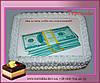 Торт Подарок Доллары