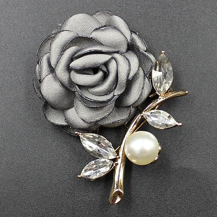 "Брошь в виде цветка ""Razia Gray"", фото 2"