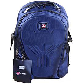Рюкзак городской SwissGear Wenger, темно-синий  (S02014)