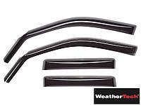 Дефлекторы окон Mercedes S-class W221 2005-2013 Long задние, светлые | WeatherTech 71439