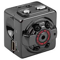 Мини камера SQ8 с ночной подсветкой и датчиком движения  (S02270)