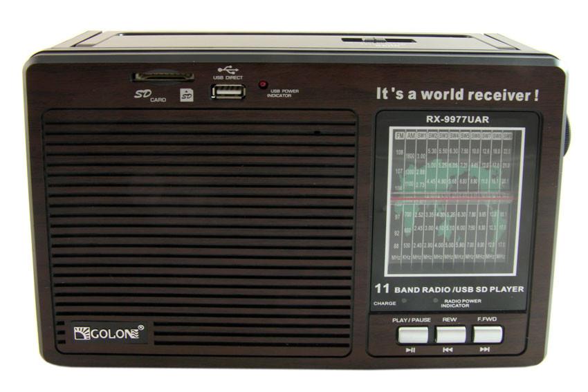 Портативный радио приемник Golon RX-9977UAR  (S02375)