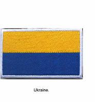 Шеврон флаг Украины! Эмблема Флаг!