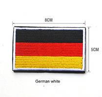 Шеврон флаг Германии! Эмблема Флаг!